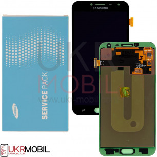 Дисплей Samsung J400, Galaxy J4 2018, GH97-21915A (SERVICE PACK ORIGINAL) с тачскрином Black