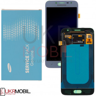 Дисплей Samsung J250, Galaxy J2 2018, GH97-21339B (SERVICE PACK ORIGINAL) с тачскрином Blue