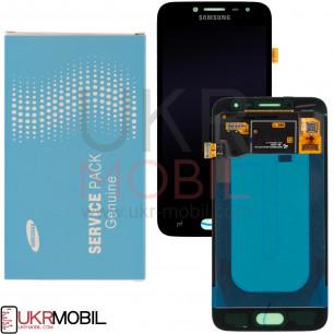 Дисплей Samsung J250, Galaxy J2 2018, GH97-21339A (SERVICE PACK ORIGINAL) с тачскрином Black