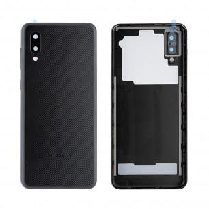 Задняя крышка Samsung A022 Galaxy A02, Original PRC, Black