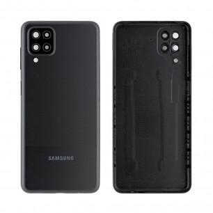Задняя крышка Samsung A125 Galaxy A12, Original PRC, Black