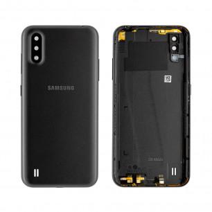Задняя крышка Samsung A01 Galaxy A015, Original PRC, Black