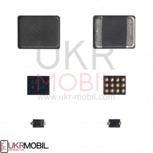 Микросхема управления подсветкой U1502, L1503, D1501, Apple iPhone 6, iPhone 6 Plus, комплект 3 в1