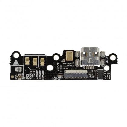 Шлейф Asus ZenFone 6 плата с коннектором зарядки, микрофоном, фото № 3 - ukr-mobil.com