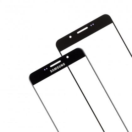 Стекло дисплея Samsung A710 Galaxy A7 (2016) Duos, Black, фото № 4 - ukr-mobil.com