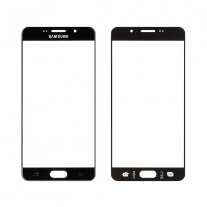 Стекло дисплея Samsung A710 Galaxy A7 (2016) Duos, Black, фото № 1 - ukr-mobil.com