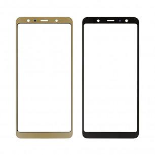 Стекло дисплея Samsung A750 Galaxy A7 2018, Gold