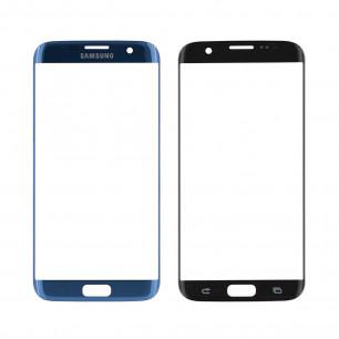 Стекло дисплея Samsung G935 Galaxy S7 Edge, Coral Blue, Original