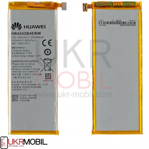 Аккумулятор Huawei Honor 6 H60-02, HB4242B4EBW, (3100 mAh)