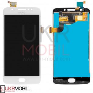 Дисплей Motorola Moto E4 XT1760, XT1762, XT1766, с тачскрином, White