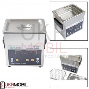 Ультразвуковая ванна Baku BK-1200, с функцией дегазации жидкости, 1.6L, 60W, 40 kHz, подогрев до 80C