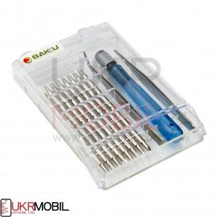 Набор отверток Baku BK-1101, (Ручка, 16 насадок, пинцет прямой, пинцет изогнутый)