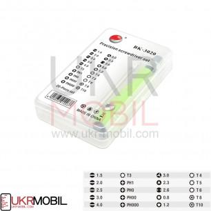 Набор отверток Baku BK-3020, (Ручка+20 насадок)