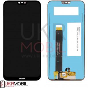 Дисплей Nokia 6.1 Plus TA-1103, X6, с тачскрином, Black