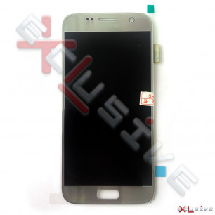 Дисплей Samsung G930 Galaxy S7, OLED, с тачскрином Silver