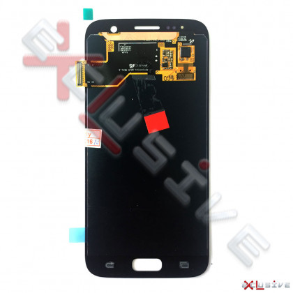 Дисплей Samsung G930 Galaxy S7, OLED, с тачскрином Silver, фото № 2 - ukr-mobil.com